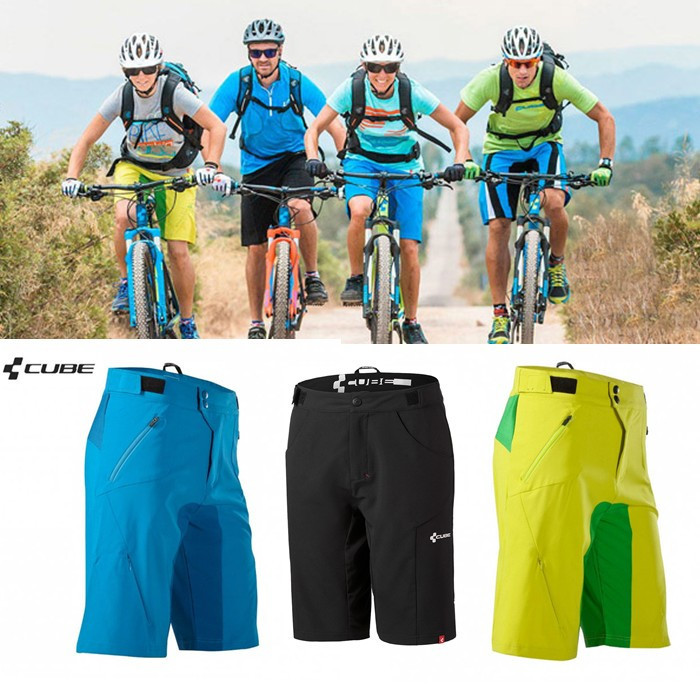 ALL In stock!!!2015 new High-Q Cube bike AMS shorts 3 colors MTB teamline men's women sports Cycling Short pants,bicycle trouser(China (Mainland))