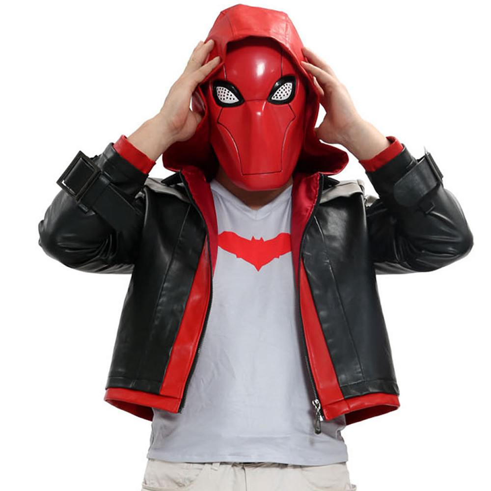 Popular Red Hood Costume Batman-Buy Cheap Red Hood Costume Batman lots from China Red Hood ...
