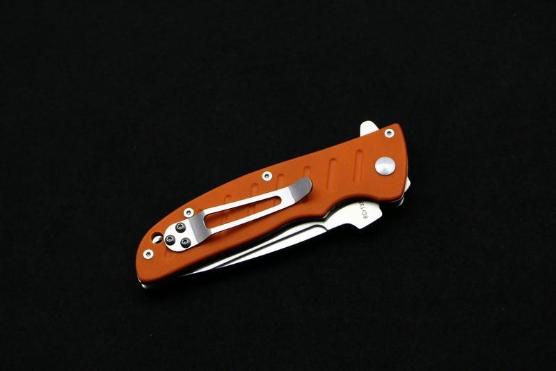 Buy Good quality Enlan EL-01 folding knife 8cr13mov blade G10 handle outdoor camping hunting pocket kitchen fruit knife EDC TOOL cheap