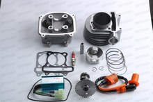 Buy Chinese Scooter 150cc Big Bore 58.5 mm GY6 Cylinder Kit A11 Cam, Racing CDI & Coil +A7TC Spark plug for $96.99 in AliExpress store