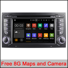 2 din android 5.1 quad core car audio dvd automotivo for AUDI A4 2002 – 2007 SEAT EXEO 2009 – 2012 with car dvd gps autoradio tv