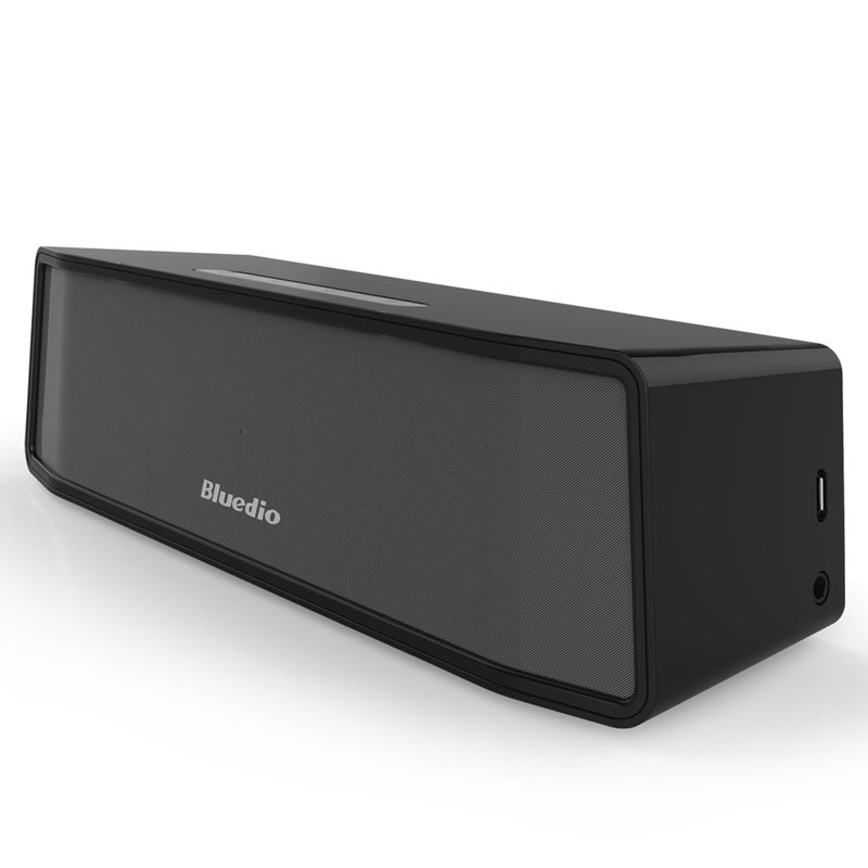 Bluedio BS-2 (Camel) Mini Bluetooth speaker Portable Wireless speaker Sound System 3D stereo Music surround(black)(China (Mainland))
