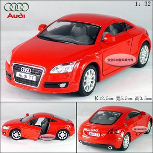2015 best-selling AUDI TT Coupe 2008 1:32 Alloy Diecast Car Model Toy Collection Red B103b(China (Mainland))