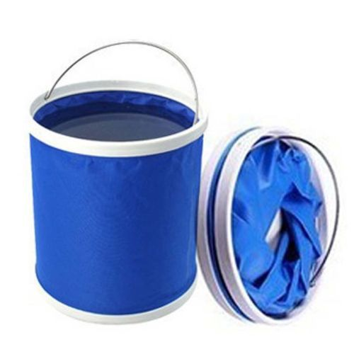 Details about Outdoor Camping Folding Car Washing Folding 11L fishing Hiking Bucket Barrel(China (Mainland))