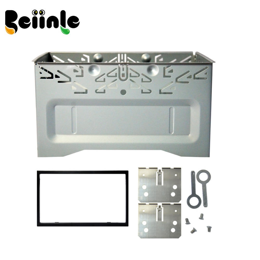 Beiinle Car 2 Din 178mm*100mm Dashboard Universal Installation Fitting Frame Mounting Kit Set Fascia for 6.2'' 7'' Radio Player(China (Mainland))