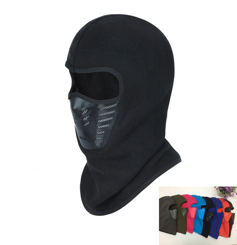 Winter Warm Hat Motorcycle Windproof Face Mask Hat Neck Helmet Beanies For Men Women Sports Bicycle Thermal Fleece Balaclava Hat(China (Mainland))
