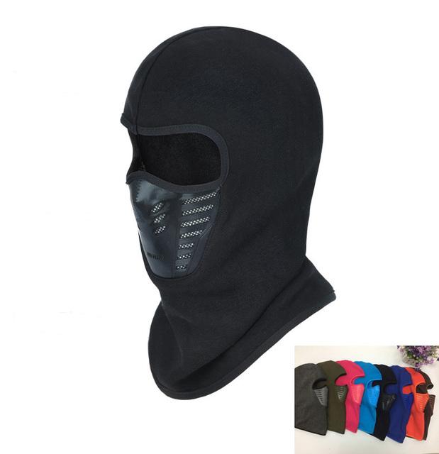 Зима теплая шапка ветрозащитный маска шлема шея шлем шапочки для мужчин женщины спорт ...