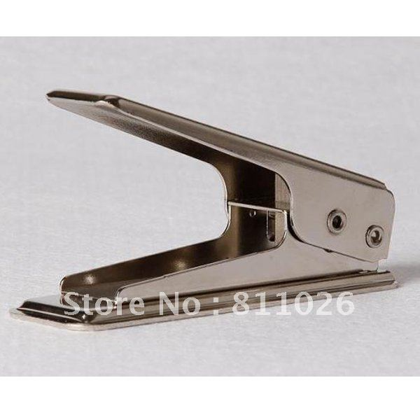 for iphone 5 Card to Nano Sim Card Cutter,SIM Card Cutter Cutting for iphone5 silver color + retail package,1pcs/lot