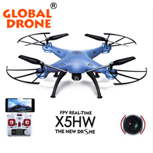 2016 NEW SYMA X5HW WIFI FPV Quadcopter Drone with Camera 2.4G 6-Axis FPV Drone Syma X5SW SYMA X5C Upgrade RC Helicopter Dron