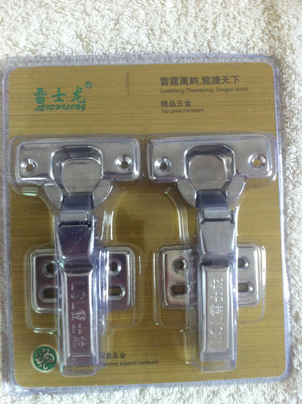 Lei Shilong F863 stainless steel hinge cabinet door furniture cushioning hydraulic spring hinge concealed hinges(China (Mainland))