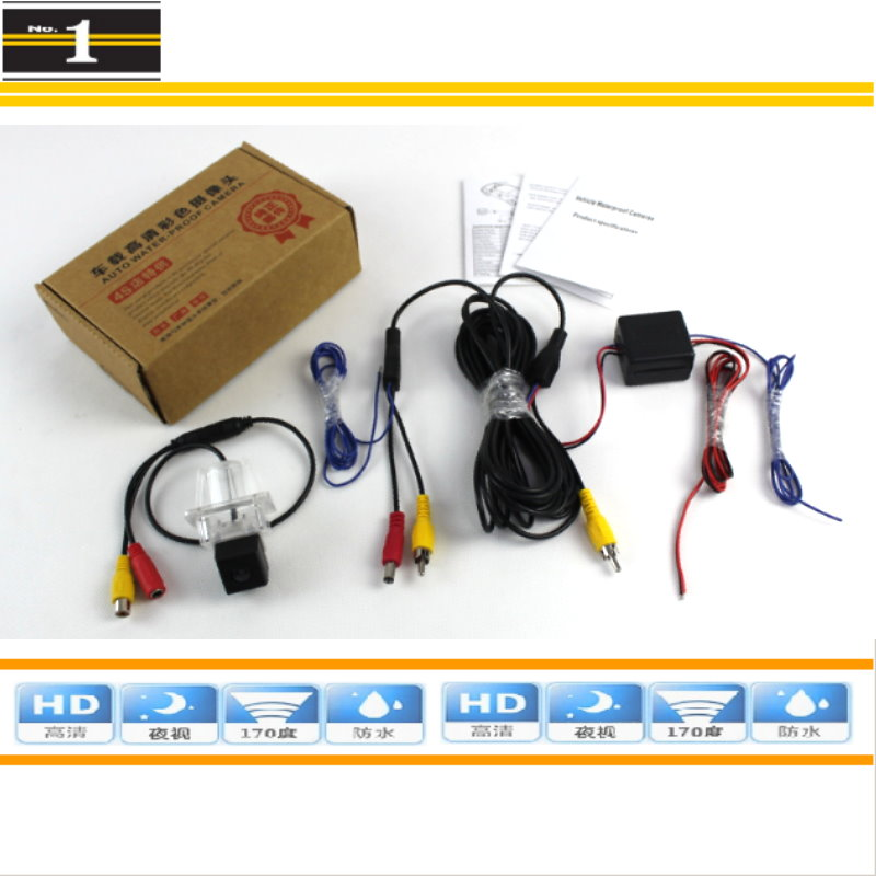 For Mercedes Benz E200 E230 E350 E250 - Rear View Camera / Back Up Parking Camera / HD CCD Night Vision + Power Relay Protection<br><br>Aliexpress