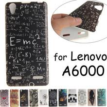 Lenovo A6000 Case Cover Cartoon Animal Flower Owl Girl Silicone TPU Back Cover Lenovo A6010 Plus Lemon K3 K30W K30-W Cases Coque