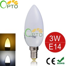led candle light 3W E14 1pcs/lot  220V 230V 240V 10pcsSDM2835  warm/cool white led candle bulb indoors led lamp High Brightness