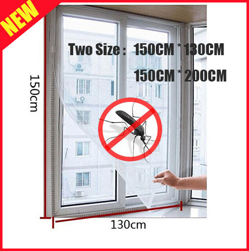 New Arrival Insect Fly Bug Mosquito DIY Window Net Netting Mesh Screen New curtains Protector Mosquito Net(China (Mainland))