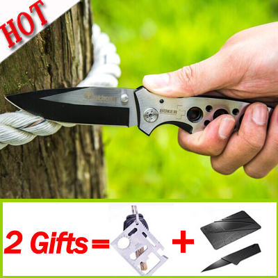 Hot Sale High quality Boker Folding Camping Knife Knife, CPM- S80B Tactical Survival knife,present credit card knife(China (Mainland))