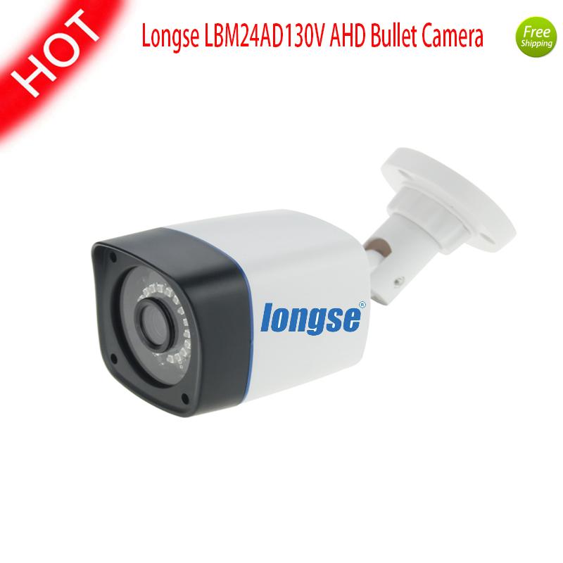 Free shipping Longse LBM24AD130V AHD Analog High Definition Camera HD 960P 1.3MP PAL/NTSC Infrared Waterproof Bullet Camera<br><br>Aliexpress