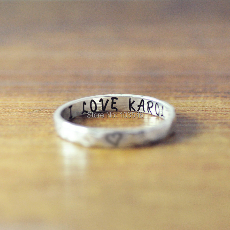 get cheap custom engraved rings aliexpress