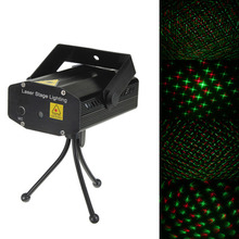Buy New Arrival Black Mini Lazer Pointer Projector light DJ Disco Laser Stage Lighting Xmas Party Show Club Bar Pub Wedding for $13.79 in AliExpress store
