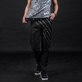 28 42 2016 Fashion Male djds rivet slim stage costume men s pants clothing buku