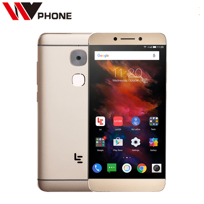 "Original leEco Le S3 4G Mobile Phone Letv s3 Helio X20 Deca Core Android 6.0 5.5 ""1920x1080P 4G RAM 32G ROM 16.0MP Fingerprint"