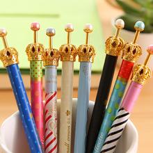 Симпатичные Kawaii Корона металла Механические Карандаши Высокие корейские Канцелярские товары для школы дети Высокое качество Бесплатная доставка 551