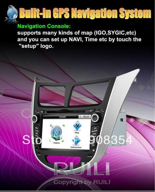Hyundai Solaris Verna  Remot Control HD Cars DVD 7 inch  2 Din  Radio for Car Free Map Free SD  card