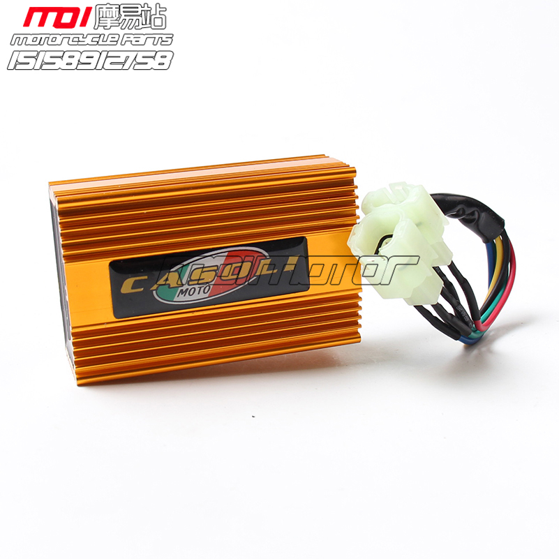 Gold Performance Racing CDI Square 4+2 pins AC Fired Fit CG/CB125 150 200 250cc Motorcycle Dirt Bike ATV Engine(China (Mainland))