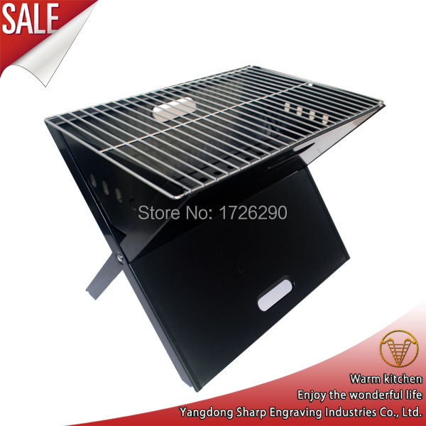 For 2-3 person use outdoor portable folding charcoal BBQ grill(China (Mainland))