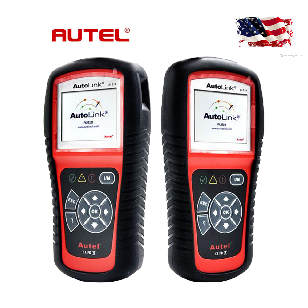 2016 Universal Automotive Scanner Autel AutoLink AL519 OBDII/CAN EOBD Diagnostic Scanner I/M Readness and Update Online Free(Hong Kong)
