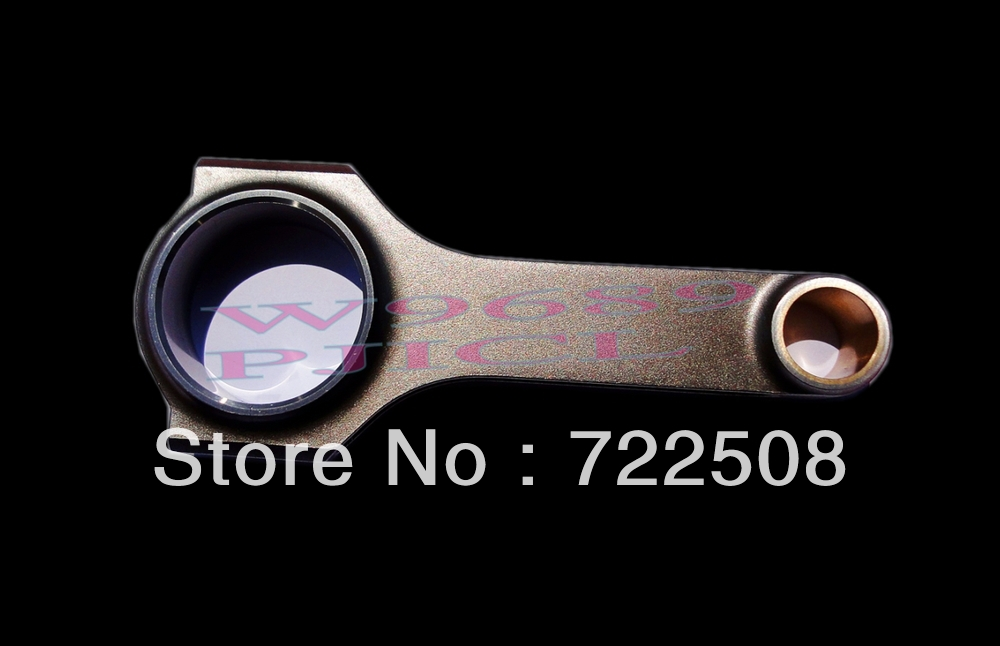 For engine 4AG 2 4age connecting rods H beam forged billet 4340 engine enhancement conrods free shipping high performance<br><br>Aliexpress