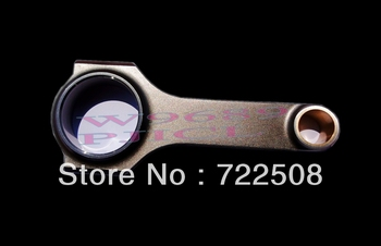 For engine 4AG 2 4age connecting rods H beam forged billet 4340 engine enhancement conrods free shipping high performance