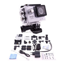 Black 1080P HD 12MP Wifi Sports DV Action Waterproof Camera Super Wide Angle for SJ4000(China (Mainland))