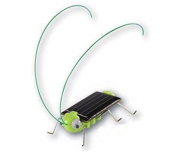 China post Merry Christmas Day Promotion 100pcs/lot Solar toys,novelty GOODS  Educational TOY Solar Grasshopper,Solar locust