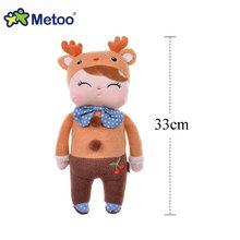 43 CENTÍMETROS Bonito Metoo Angela Bonecas Brinquedo Do Bebê Coelho Bicho de pelúcia Brinquedo de Pelúcia Para As Crianças presente de aniversário de Natal(China)