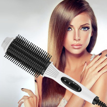 Buy Multifunctional 2 in1 Electric Straightener Curler Hair Comb Anti-scald Curling Irons Hair Curler Comb Styling Tools Hot Sale for $8.51 in AliExpress store