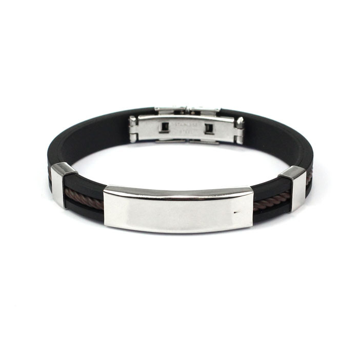 Puscard Fashion Men Jewelry Bracelet Stainless Steel Cuff Bangle Hand Chain Free Shipping&Wholesales(China (Mainland))