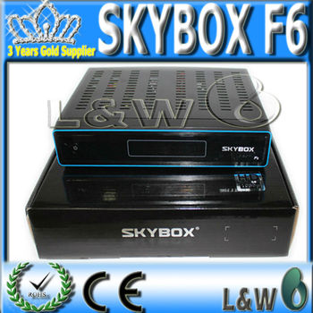 Satellite TV Receiver SKYBOX F6 Original HD full 1080p PVR support usb wifi youtube youpron free shipping