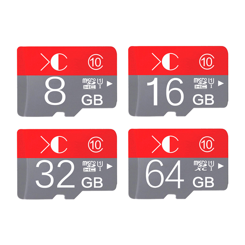 Red blister Package Memory card micro sd card 32GB class 10 sd card flash memory card 4GB 8GB 16GB 32GB 64GBwith adapter(China (Mainland))