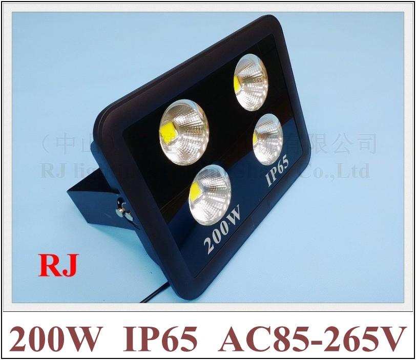 new style with cup shape reflector LED flood light floodlight spot light lamp 200W (4*50W) AC85-265V 16000lm(China (Mainland))