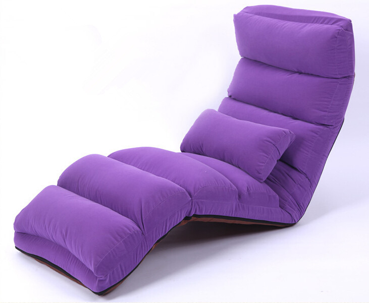 Aliexpress Buy Floor Folding Chaise Lounge Chair Modern Fashion 5 Color