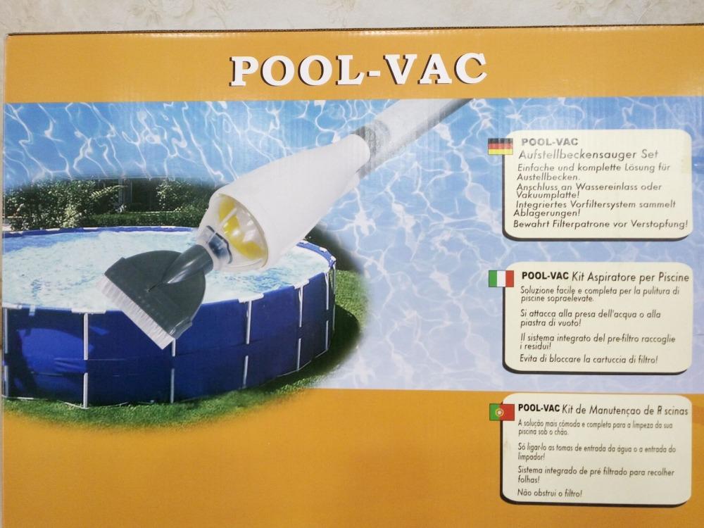 Vac Above Ground Swimming Pool Vacuum for Intex & Inflatable Pools(China (Mainland))