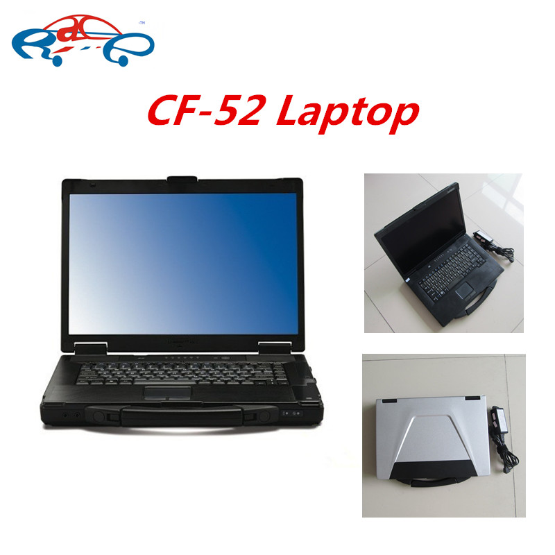 2016 Best Quality used For Panasonic Toughbook CF52 CF-52 Laptop 4g with battery without HDD software for mb star icom DHL Free(China (Mainland))