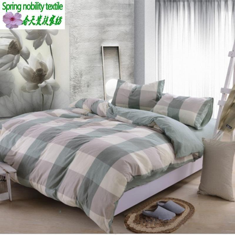 hot christmas bedding set queen bed comforter sets 4 pcs. Black Bedroom Furniture Sets. Home Design Ideas