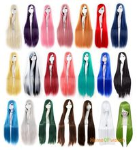 100cm Cosplay Party Ladies Straight Wigs Of Different Colors (NWG0CP60917)(China (Mainland))