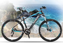 The new 26 inch mtb carbon fiber 27-speed mountain bike dual disc brakes M390 Transmission system(China (Mainland))
