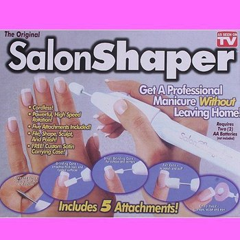 Salon Shaper Nail Shaper 5 in 1 Manicure Pedicure Nail Trimming Kit As Seen On TV
