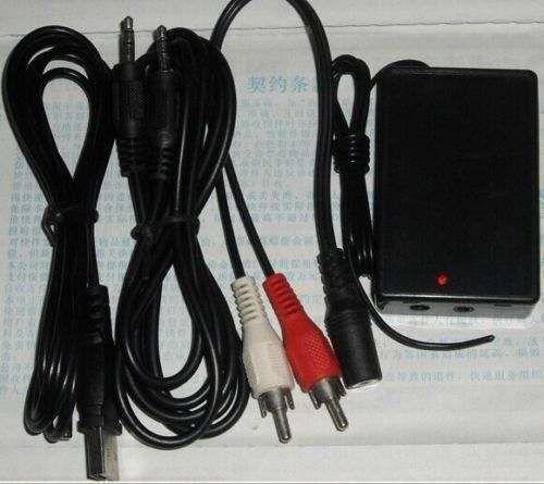 Hot!! Digital Radio Station 0.5W PLL Stereo FM Dual Sender Transmitter BH1417F 5V USB Free shipping / tracking number(China (Mainland))