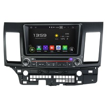 HD 1024*600 Quad Core 16GB Android 5.1.1 Car DVD Player Radio GPS Navi Stereo for MITSUBISHI LANCER 2006 2007 2008 2009-2012