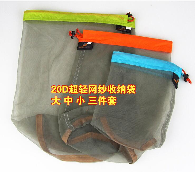 Portable Breathable Grid Travel Pouch Clothing Restore/sundry Storage Bags FIVE Different Size Of The Bag Travel Essentials(China (Mainland))