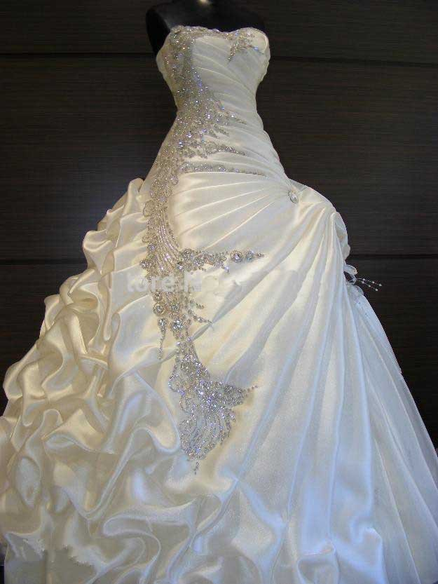 Ball gown wedding dresses elegant princess wedding dress for Bling princess wedding dresses